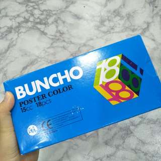 BUNCHO Poster Color