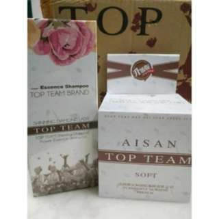 Aisan Top Team Shampoo & Hair Mask >>2Set