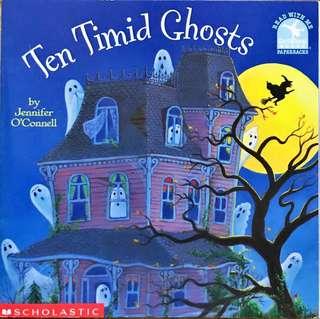 Halloween / Ghost Theme Books for Children