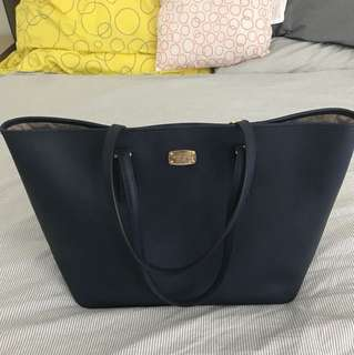 Michael Kors Large Handbag Dark Blue