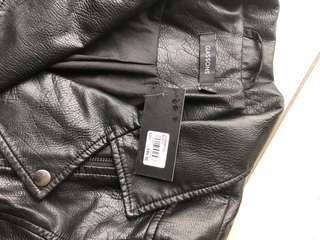 Brand new leather Glasson jacket