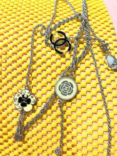 Necklace Chanel charms