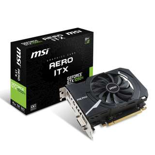 MSI GeForce GTX 1050 Ti 4GB AERO ITX OC GTX1050 TI