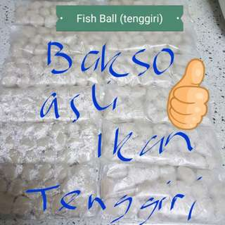 Homemade fish ball