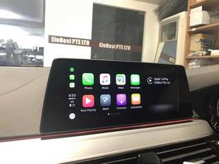 BMW G30 Apple CarPlay & Video In Motion Package