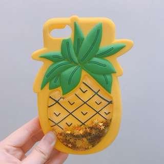 iPhone 7 菠蘿 全包手機軟殼