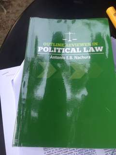 Outline Reviewer in Political Law by Nachura