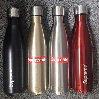 Supreme Steel Water Bottle