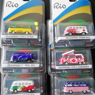 Greenlight Rio Set 6 pcs