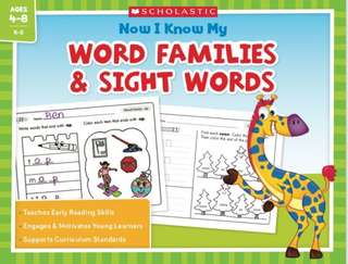 Scholastic Now I Know My Word Families & Sight Words (PDF)