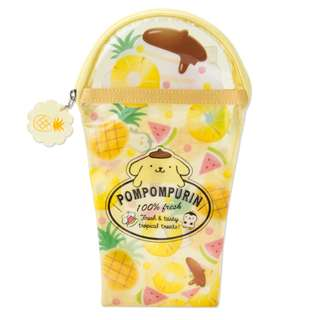 Japan Sanrio Pompompurin Vinyl Pen Case (fruit)