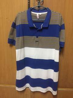 Penshoppe Polo Shirt Large Size for Men
