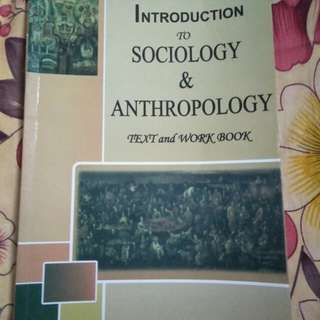 Intro to sociology & anthropology