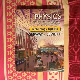 *PRICE REDUCED* PHYSICS for Scientists and Engineers with Modern Physics by Serway and Jewett