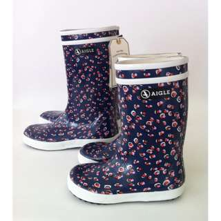 SKU#L00522 Rubber Boots , Kids, Size 32 Lolly Pop by Aigle
