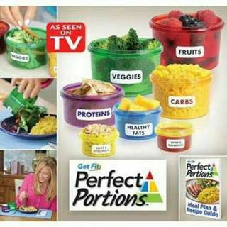 Perfect Portion Container (7pcs)