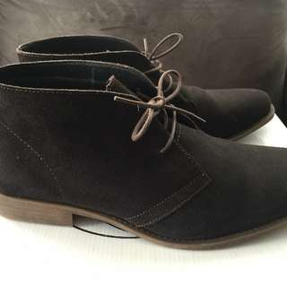 Rivers Suede Boots Size Au10