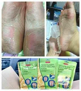 Purederm foot peeling mask