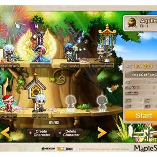 MaplestorySEA Aquila Account