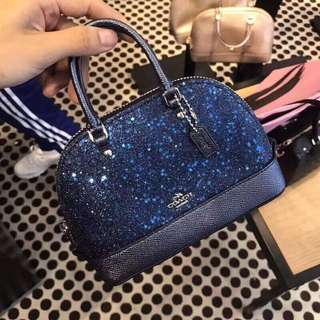 Coach mini sierra star glitter