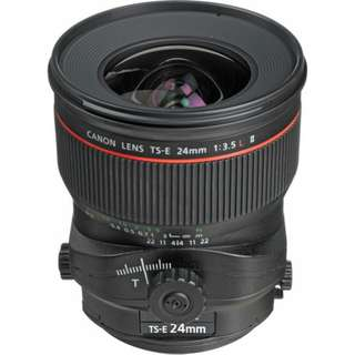 TS-E 24mm f/3.5L II Tilt-Shift Lens Canon