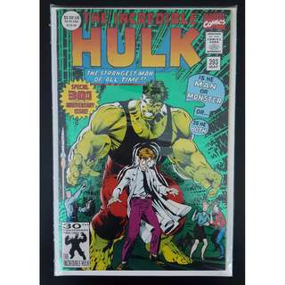 Incredible Hulk #393 (1992) 30th Anniversary, Double-sized Milestone issue! 1ST PRINT