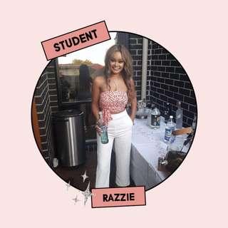 Razzie, Student
