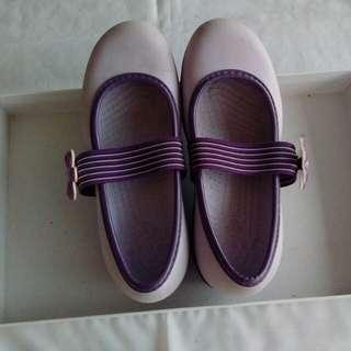 Crocs purple ori untuk anak