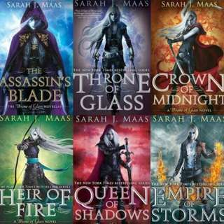 FREE! Throne of Glass Series