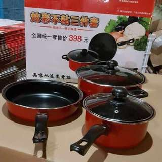 Cooking Ware 3pcs
