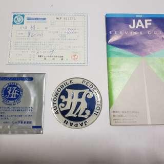 Original japan JAF Emblem