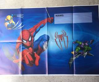 💥 Superheroes Spiderman party supplies - party backdrop / poster / party birthday deco