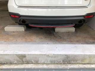 Subaru Forester rear diffuser ( original STI)
