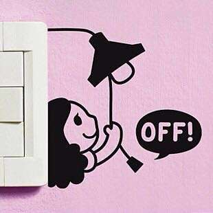 Switch wall decal sticker