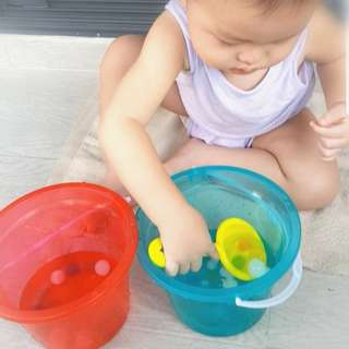 Montessori Spooning Exercise Scoop and Transfer Orbeez Waterbabies