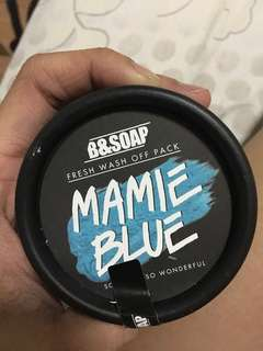 B&SOAP Mamie Blue Fresh Wash Off Pack