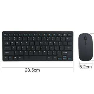 Hot 2.4G wireless keyboard m mouse kit keypad