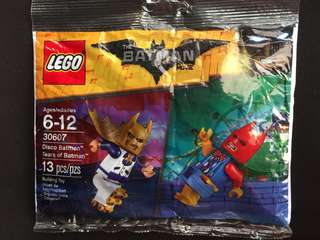 LEGO Disco Batman and Tears of Batman MiniFig