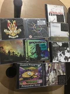 CDs rock/alternative