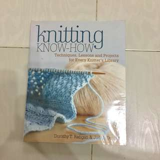 Knitting Know How book