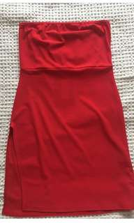 Red Pretty Little Thing dress
