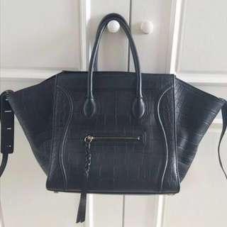 99%新 Celine 黑色Luggage Phantom