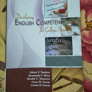 Developing english competency