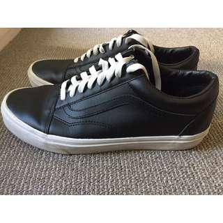 Vans Denim Old Skool Leather