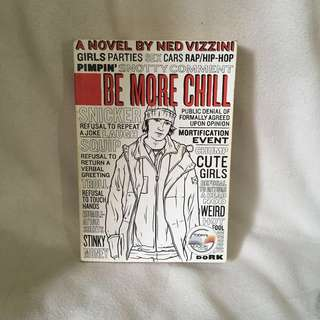 Be More Chill book by Ned Vizini 📚 | 📖 B55