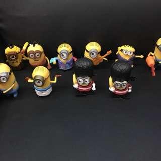 小小兵造型玩具十隻