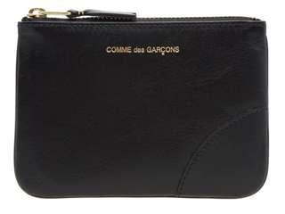 COMMES DES GARÇONS black small leather pouch