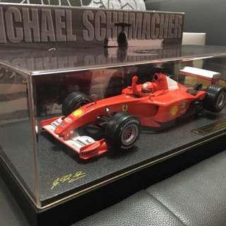 1:18 Ferrari 2001 no.1 Special Edition