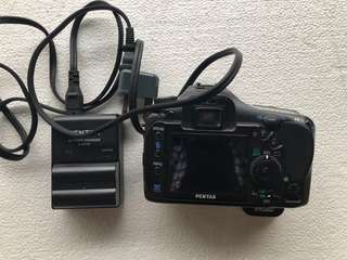 Pentax K20D (Body Only) + Charger & Battery