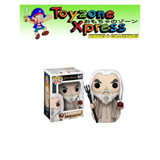 The Lord of the Rings Saruman Pop! Vinyl Figure (#447)